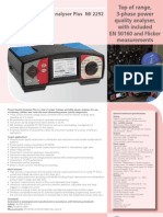 Single 2008 MI 2292 Power Quality Analyser Plus Ang 01