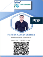Rakesh Sharma Id Card 2