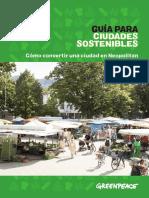 Guía Para Ciudades Sostenibles