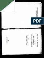 16. Botana, N., El Orden Conservador, C1 y C2, Pág. 23-65