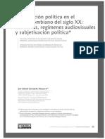 ALTUZARRA, José Gabriel Cristancho. La oposición política en el cine colombiano del siglo XX - memorias, regímenes audiovisuales y subjetivación política.pdf
