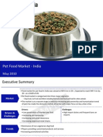 Pet Food Market in India 2010 Sample 100528055916 Phpapp02