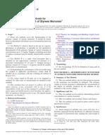 D2121 -15 Standard Test Methods for Polymer Content of Styrene Monomer and AMS (alpha -Methylstyrene).pdf