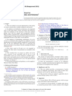 D2192 -06(2012) Standard Test Method for Purity of Aldehydes and Ketones.pdf