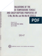 DS47 - (1971) Evaluations of the Elevated Temperature Tensilde and Creep-Rupture Properties of C-Mo, Mn-Mo and Mn-Mo-Ni Steels.pdf