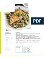 Cuscus de Pollo Con Taboule