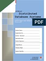 Lab Manuals DDBS