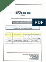 QA IMCO HSE P QT 009 Steel Erection Procedure