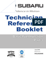SUBARU Technical Reference Booklet