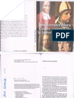 Cuatro visiones de la Historia, Ferrater Mora