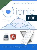 Manual de Introduccion a Ionic Framework
