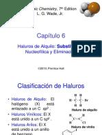Capitulo 6 Derivados Halogenados SN2