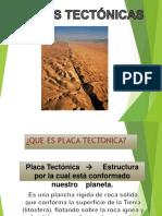 Exposicion Placas Tectonicas