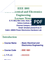 EEE1001 Course slides
