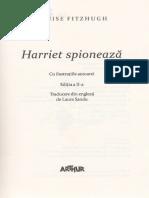 Harriet Spioneaza - Louise Fitzhugh