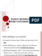Early Models of the Universe