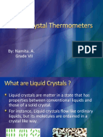 Liquid Crystal Thermometers