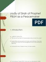 Prophet PBUH as a Peacemaker