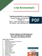 12 Design for Environment