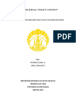 Pundra Dara_1906430674_Kelompok 4_Promosi Kesehatan (Analisis Jurnal 1 - Policy Context - Inter)