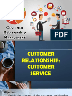 Customer Relationships and Customer Service