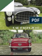 car faces calendar 2011
