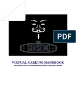 The Essential Virtual Carding Handbook
