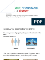 Geography, Demography, & History