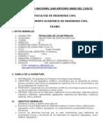 SILABO TECNOLOGIA DE LOS MATERIALES
