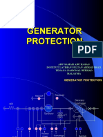 Types of Generator Protection