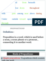 Prepositions Udang