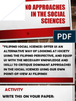4 Filipino Approaches in the Social Sciences