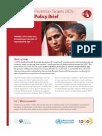 Anaemia Policy Brief