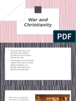 Christianity and its role in War.pptx