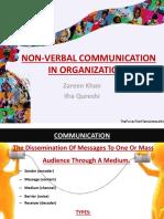 Non Verbalcommunicationinorganizations 120520052950 Phpapp01
