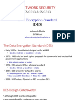 7. Data Encryption Standard