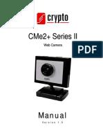 Crypto CMe2plus Series II Web Camera manual