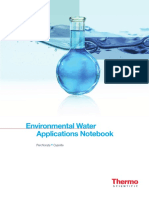 An 70048 Environmental Water Applications Notebook AN70048 E