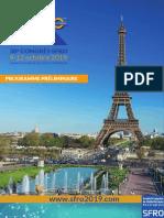 SFRO2019 Programme Preliminaire