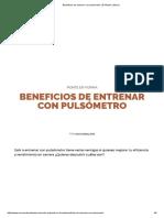 Beneficios de Entrenar ConPulsómetro _ El Mundo _ Marca