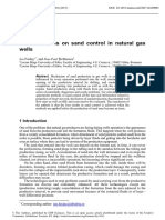 Considerations on Sand Control in Natural Gas1