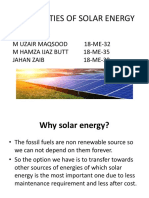 POSSIBILITIES OF SOLAR ENERGY.pptx
