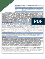 Beltran v. Sec. of Health – 476 SCRA 168 [2005]