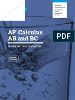 AP Calculus Ab Bc Course and Exam Description