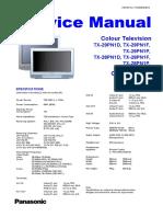 Panasonic TX-29pn1d f p TX-28pn1d f p