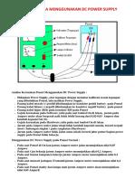 Cara Menggunakan DC Power Supply Untuk Test HP