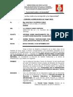 Informe de Mant. 2019