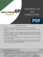 Amazon as an Employee