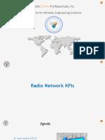 10.Radio Network KPI's(3GPP)