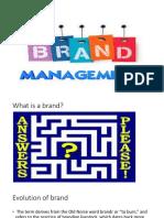 Unit 2 Brand Management 1820